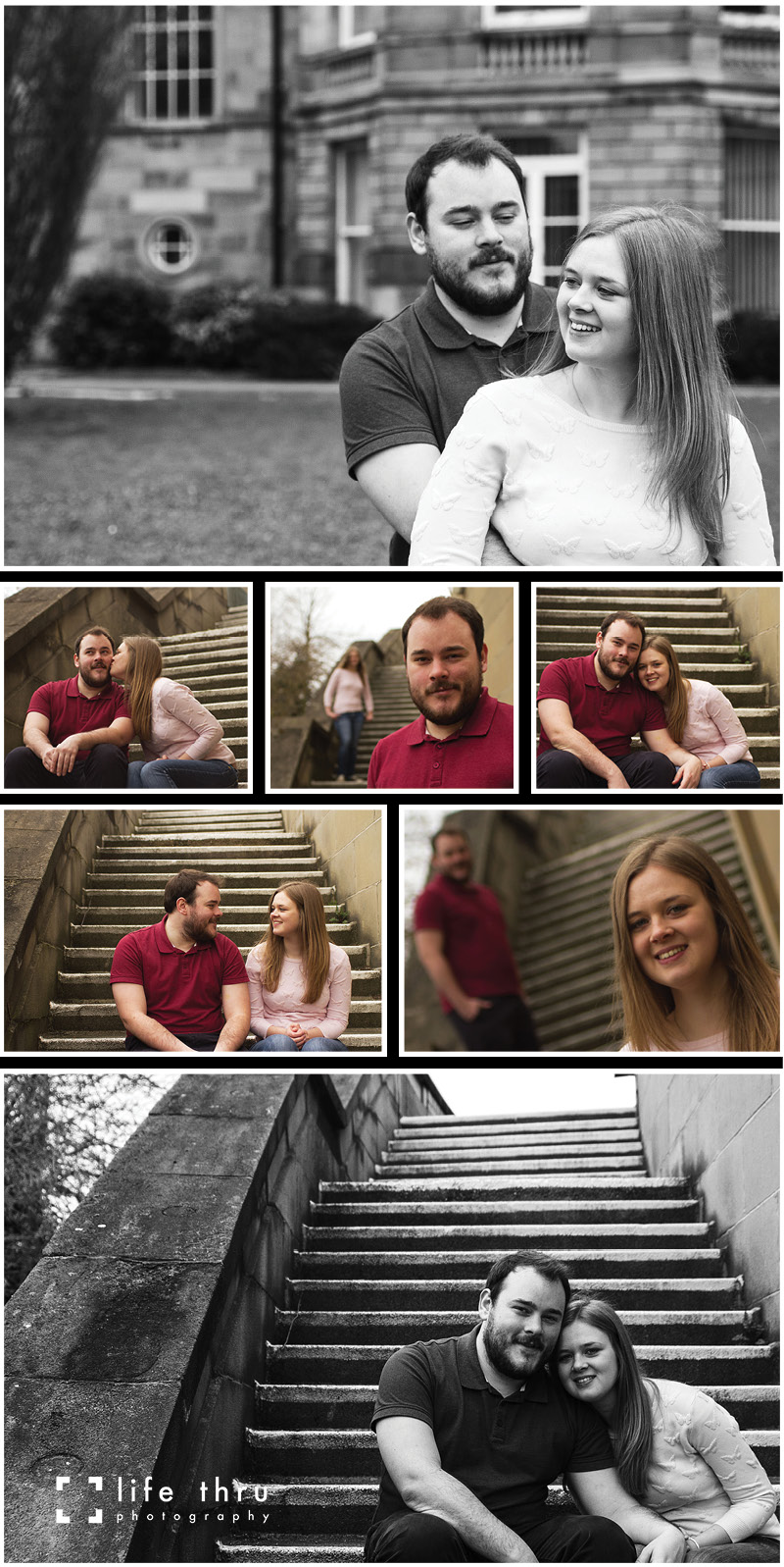 Heather and James' Modern Engagement Shoot (2)